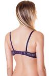 Бюстгальтер, цвет - т.фиолетовый_0