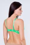 Бюстгальтер, цвет - зеленый_0