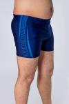 Плавки мужские, цвет - т.синий-голубой_0