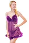 Комплект, цвет - фиолетовый