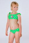 Купальник детский, цвет - зеленый