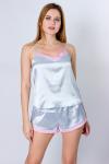 Пижама, цвет - серебро