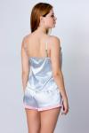 Пижама, цвет - серебро_0