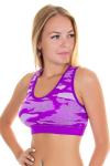 Топ спортивный, цвет - фиолетовый