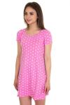 Ночная сорочка, цвет - малиновый