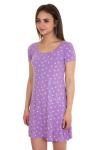 Ночная сорочка, цвет - сиреневый