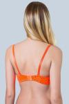 Бюстгальтер, цвет - оранжевый_0