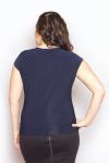 Блузка, цвет - вид сзади