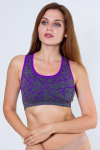 Топ спортивный, цвет - пурпурный