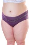 Трусы женские, цвет - пурпурный