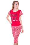 Пижама, цвет - красный