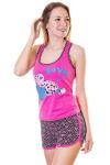 Пижама, цвет - розовый