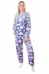 Пижама, цвет - серый