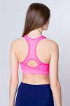 Топ спортивный, цвет - розовый_0