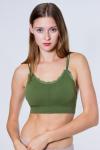 Топ женский, цвет - зеленый