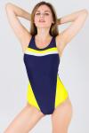 , цвет - т.синий-желтый