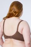 Бюстгальтер, цвет - т.коричневый_0