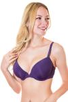 Бюстгальтер, цвет - т.фиолетовый