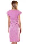 Сорочка, цвет - брусничный_0