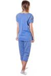 Пижама, цвет - голубой_0