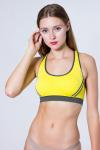 Топ спортивный, цвет - желтый