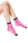 Носки женские, цвет - малиновый