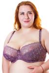 Бюстгальтер, цвет - фиолетовый