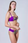 Купальник, цвет - фиолетовый
