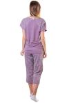 Пижама, цвет - лиловый_0