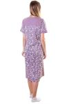 Сорочка, цвет - лиловый_0