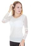 Блузка, цвет - белый