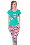 Пижама, цвет - расцветки в ас._0