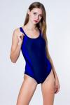 Купальник спортивный, цвет - т.синий