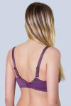 Бюстгальтер, цвет - пурпурный_0