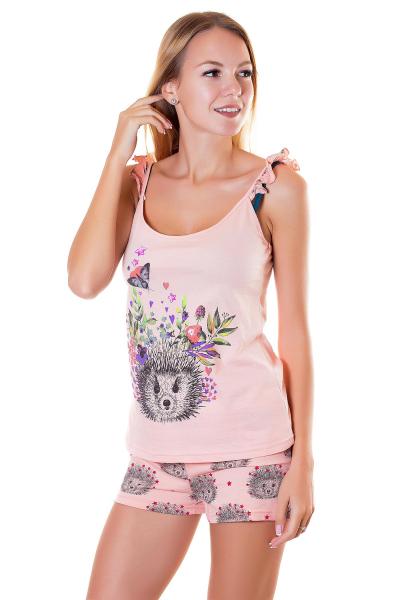 Пижама, цвет - персиковый