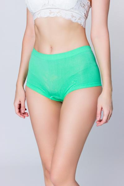 Трусы женские, цвет - зеленый