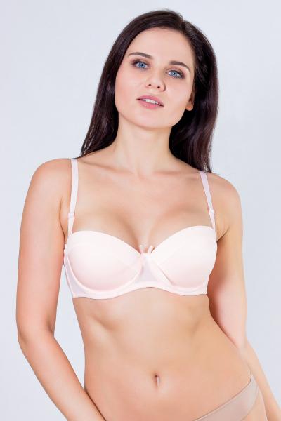 Бюстгальтер, цвет - св.розовый