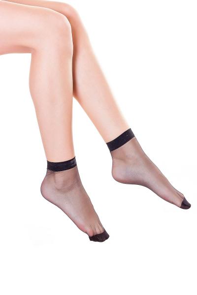 Носки женские, цвет - черный