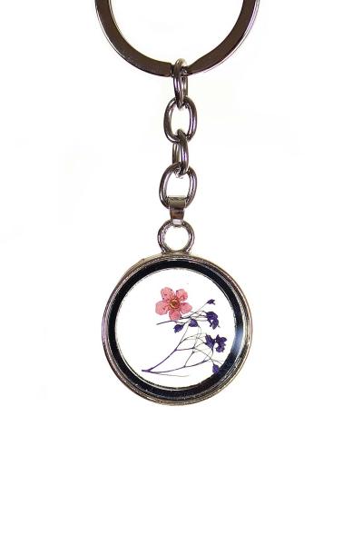 Брелок с гербарием, цвет - reg