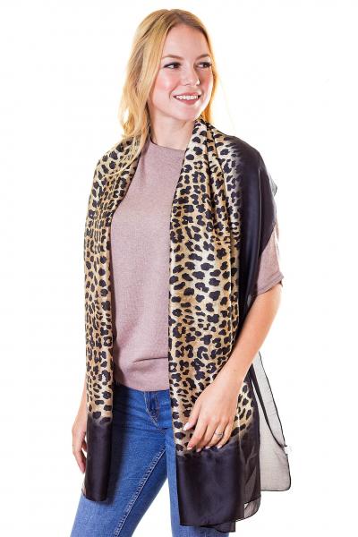 Палантин, цвет - леопардовый
