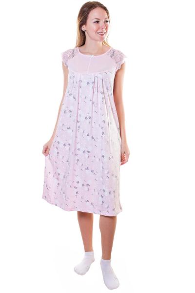 Сорочка, цвет - розовый