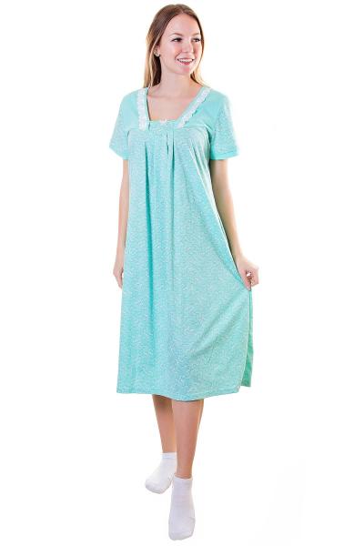 Сорочка, цвет - салатовый