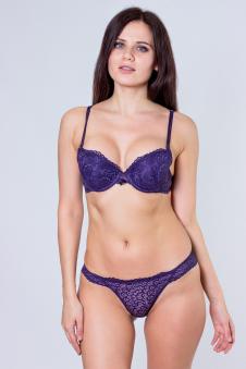Комплект, цвет - т.фиолетовый
