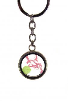 Брелок с гербарием, цвет - кулон