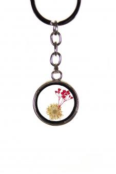 Брелок с гербарием, цвет - куп